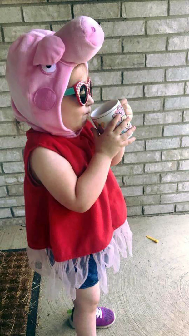 My Daughter Has Been Picking Her Own Clothes And Watching Her Big Brother Get On The Bus