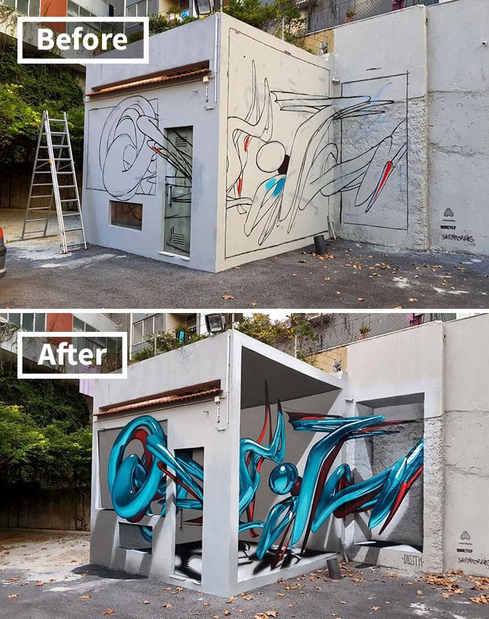 Odeith Graffiti
