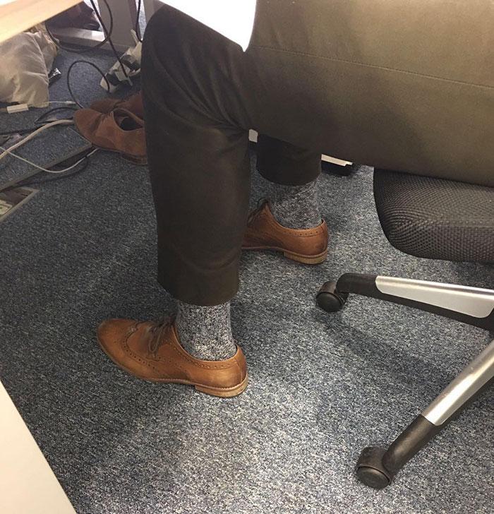 ] Coincidencia con los calcetines de la alfombra