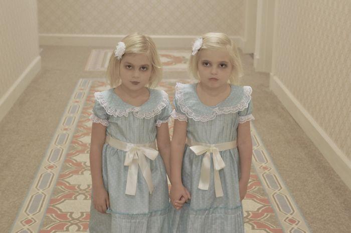 Mi esposa había estado esperando este Halloween desde la primera vez que escuchamos que teníamos Twin Girls