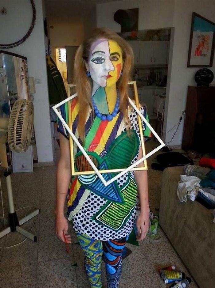 Picasso Pintura Disfraz de Halloween