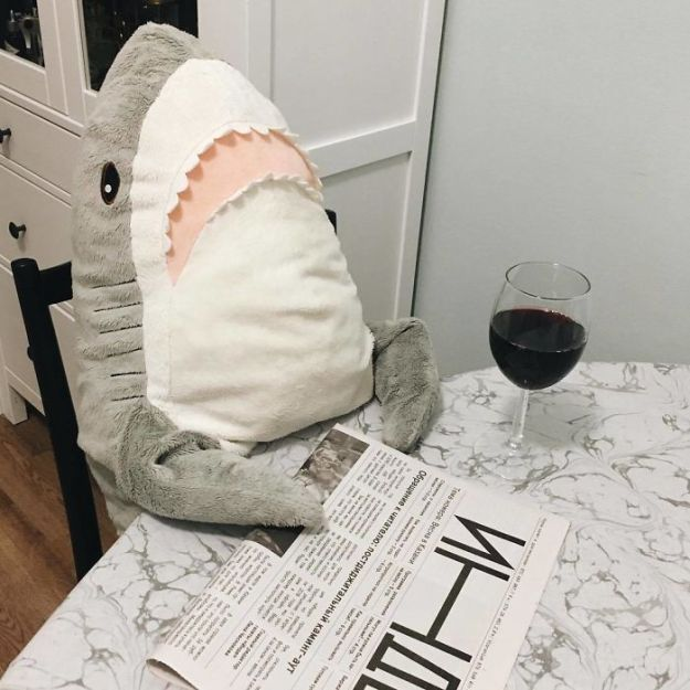 BpXTtLHhzej-png__700 IKEA Released An Adorable Plush Shark And People Are Losing Their Minds Over It Design Random