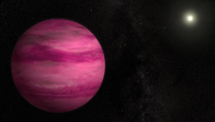 Gj-504b - O Planeta Rosa