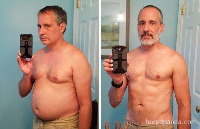 Hace un año que dejé de beber. He perdido 16 kilos