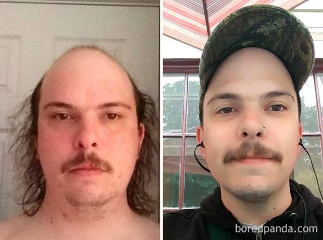 Tras una década de alcohol y no proteger de mí mismo, ya casi llevo un año sobrio. 22 kilos menos y un trabajo nuevo que me encanta, la vida es mejor