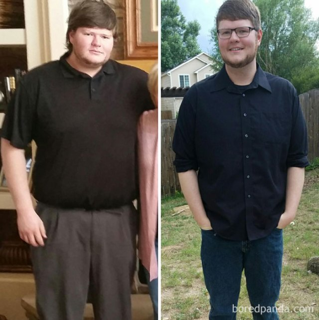 El aspecto de 1 año sobrio y 27 kilos menos