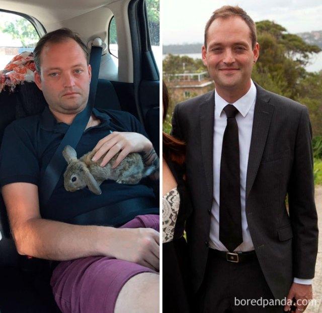 Antes y después de 307 días sobrio