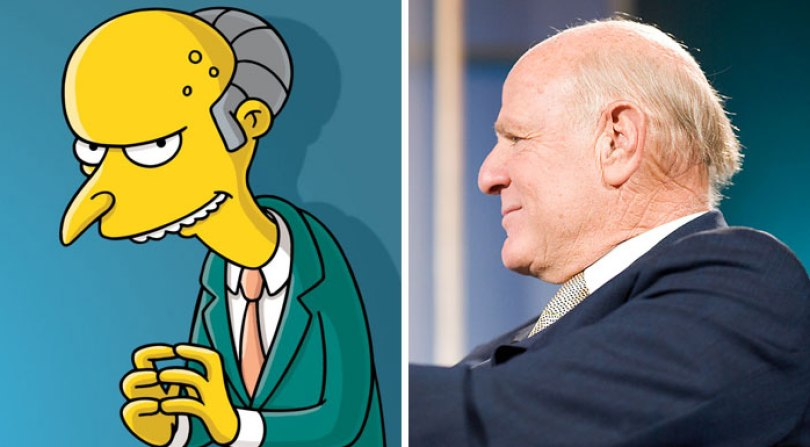 Sr. Burns (Barry Diller)