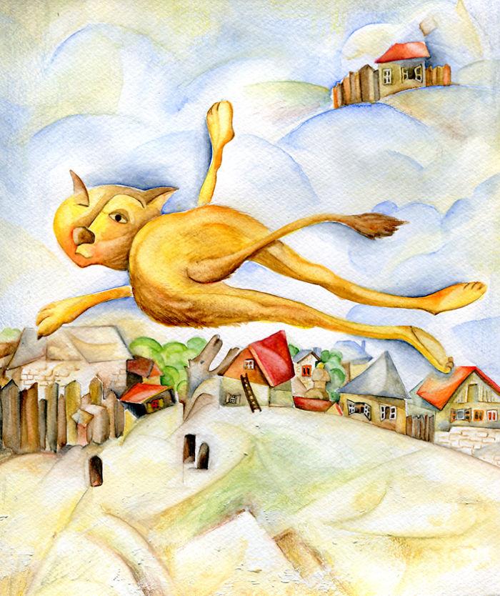 Inspirado por Marc Chagall