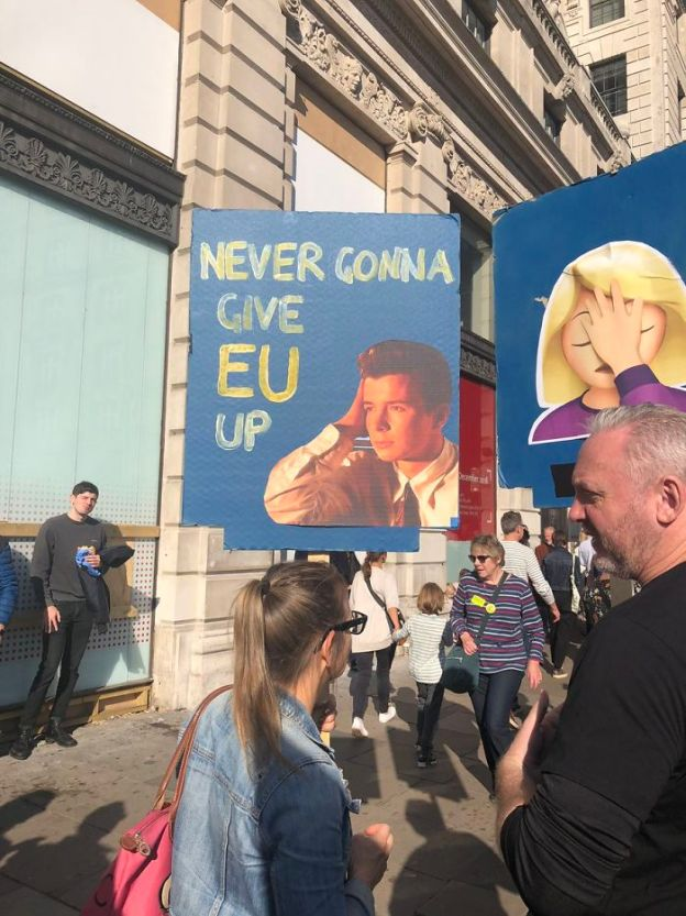 funny-anti-brexit-protest-signs-london-13-5bcd717d61042__700 25+ Of The Funniest Signs From The Anti-Brexit March Design Random