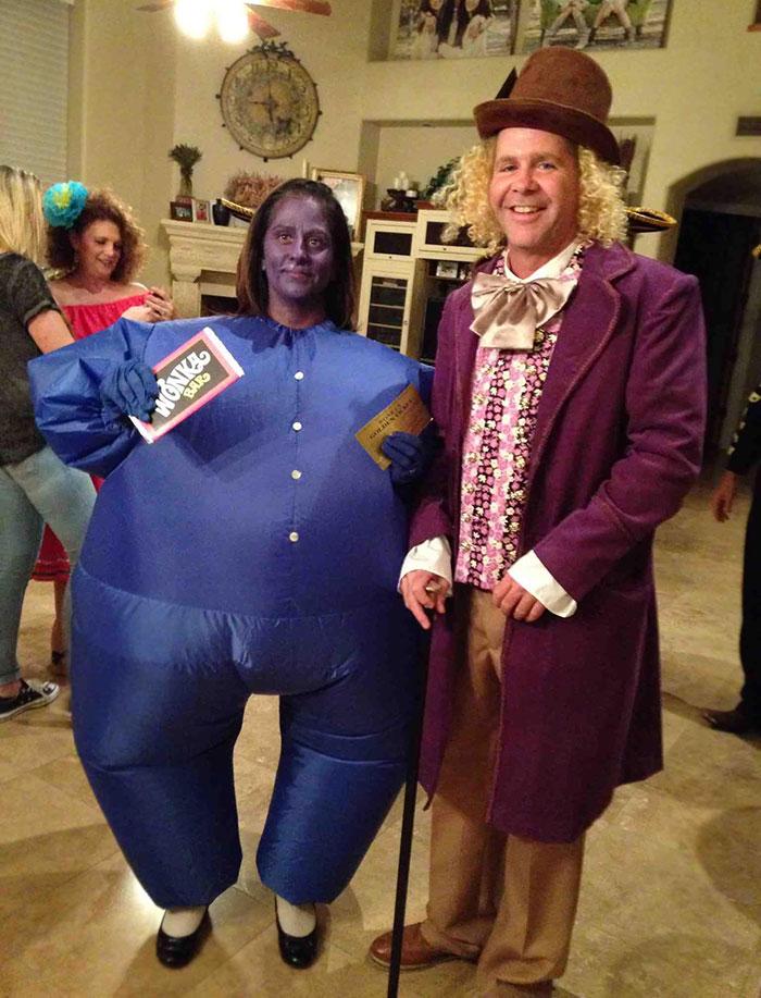 My Parents Won The Costume Contest
