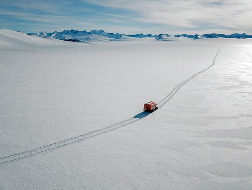 Antártica é o continente mais frio, mais ventoso e seco
