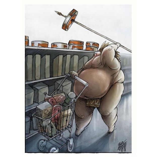 satire-political-cartoon-illustration-angel-boligan-5bd1b00b66538__700 What's Wrong With Today's Society Captured In 25+ Brutally Honest Illustrations By Angel Boligan Art Design Random