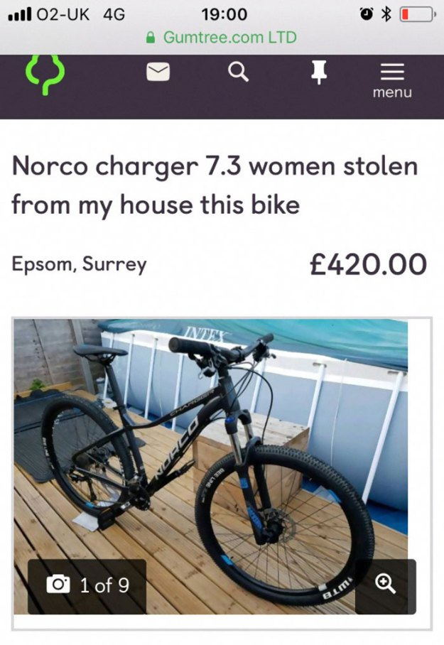 woman-steals-back-own-bicycle-gumtree-sharron-jensen-4-5bbb04838bd30__700 The Way This Mom Got Back Her Stolen Bike From The Thief After Police Refused To Help Is Brilliant Design Random
