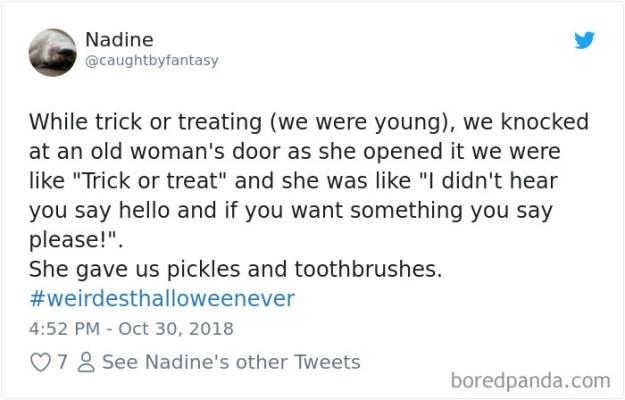 1057314377848799233-png__700 20+ People Share Their Weirdest Halloween Stories Design Random