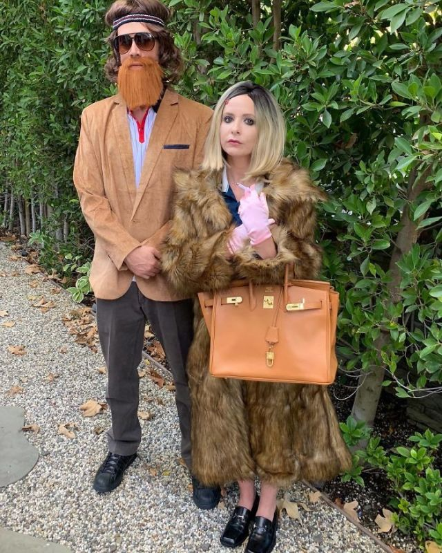Sarah Michelle Gellar y Freddie Prinze Jr.como protagonistas de Los Tenenbaums