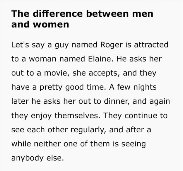 """difference-between-men-women-dave-barry-1-5be5426b41387__700 """"Difference Between Men And Women"""" Text From 1995 Is Going Viral Again – Do You Agree With It? Design Random"""