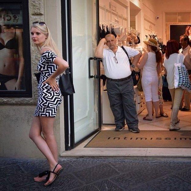 funny-miserable-men-shopping-photos-43-5bff9c301eb17__700 86 Funny Photos Of Men Shopping With Their Ladies Design Random