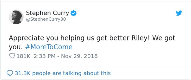 girl-letter-shoe-sizes-riley-morrison-stephen-curry-5c010c39dd724__700 9-Year-Old Girl Writes A Letter To NBA Star Steph Curry Complaining His Shoes Are Only For Boys, He Responds With A Gift Design Random