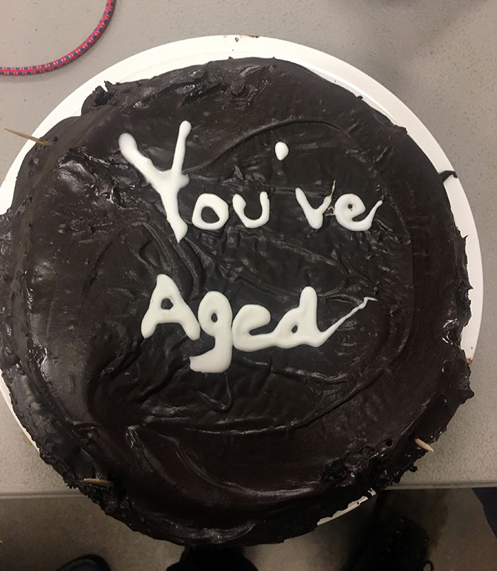 My Girlfriend Brought Me A Cake To Work For My Birthday