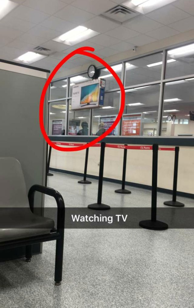 My Wife Just Sent Me This Picture From A Waiting Room
