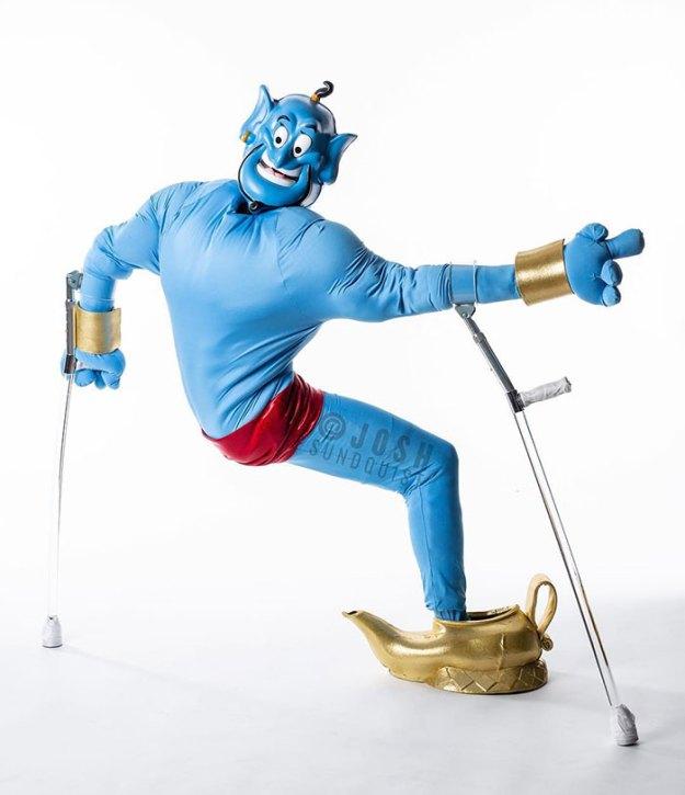 one-legged-amputee-halloween-costume-josh-sundquist-5bdab3b0cf525__700 Every Halloween This One-Legged Guy Makes An Epic Halloween Costume, And He Just Revealed His 2018 Costume Design Random