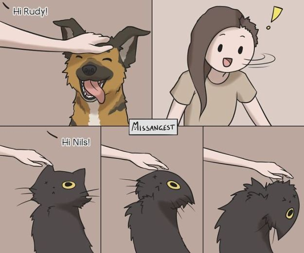 relatable-cat-comics-missangest-14-5be150bea0cc2__700 12 Funny Comics Reveal The Reality Of Owning A Cat Design Random