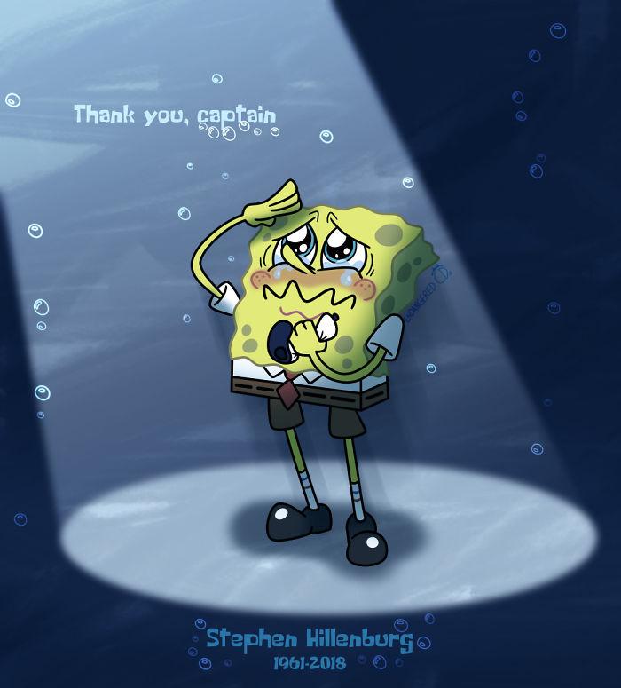 Il passaggio di Stephen Hillenburg mi ha colto di sorpresa completa Non posso ringraziarlo abbastanza per illuminare la mia infanzia con SpongeBob SquarePants. Stai tranquillo, signore