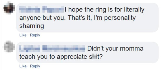 woman-shames-boyfriend-engagement-ring-4-5be14ed371fb5__700 Woman Finds A Ring In Her Boyfriend's Nightstand, Posts It To A Ring-Shaming Group Design Random