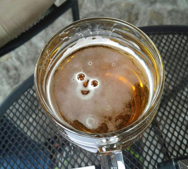 Get Yourself Someone Who's As Happy To See You Like This Beer Is Happy To See Me