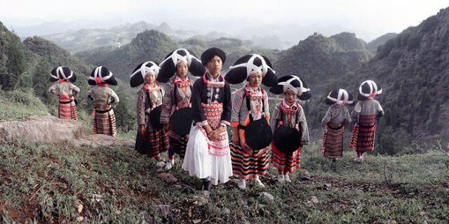 Pueblo de Miao, Liu Pan Shui, Gui Zhou, China