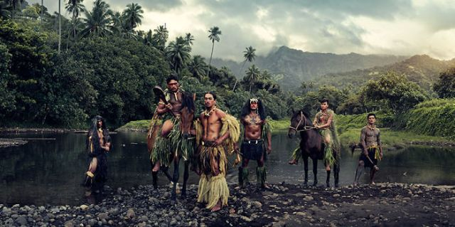 Río Vaioa, Atuona, Hiva Oa, Islas Marquesas, Polinesia francesa
