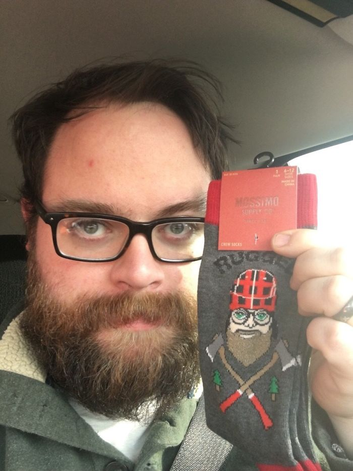 My Wife Found These Socks In Target Today. My Whole Life Has Led To This Moment