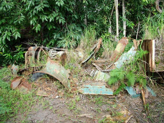 Remains Of A Vehicle