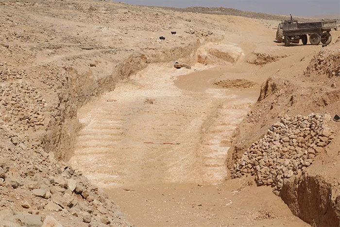 A Ramp That May Have Been Used To Build Pyramids