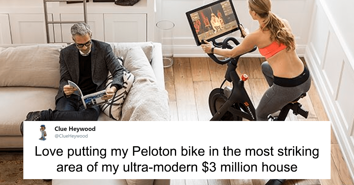 Peloton Stationary Bicycles Get Flooded With Memes After Their