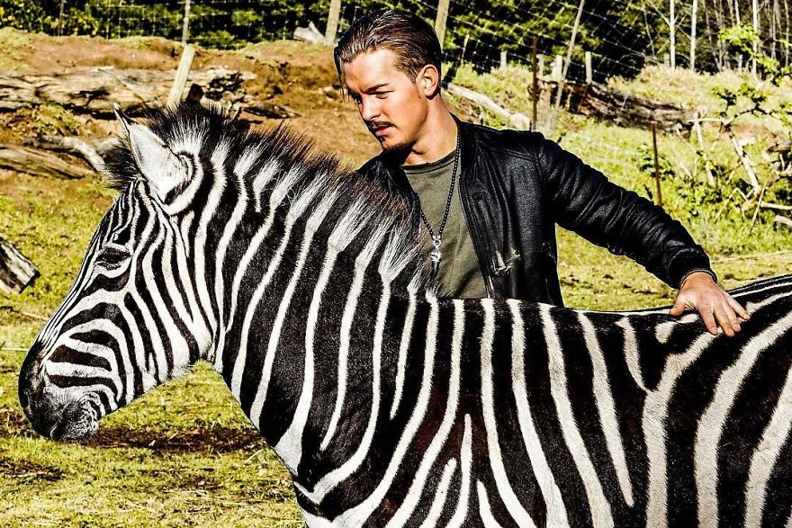 This Guy From Switzerland Left A Prestigious Job, Sold All His Things And  Moved To Africa To Rescue Mutilated Animals - Success Life Lounge