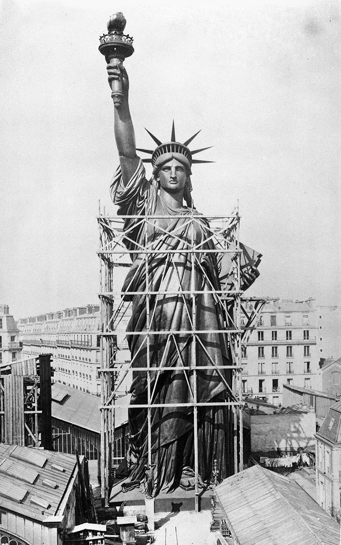 Statue Of Liberty In New York City, U.S.