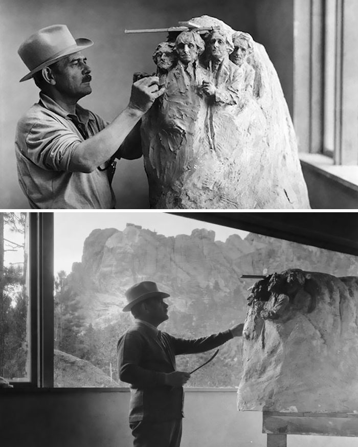 Mount Rushmore Models