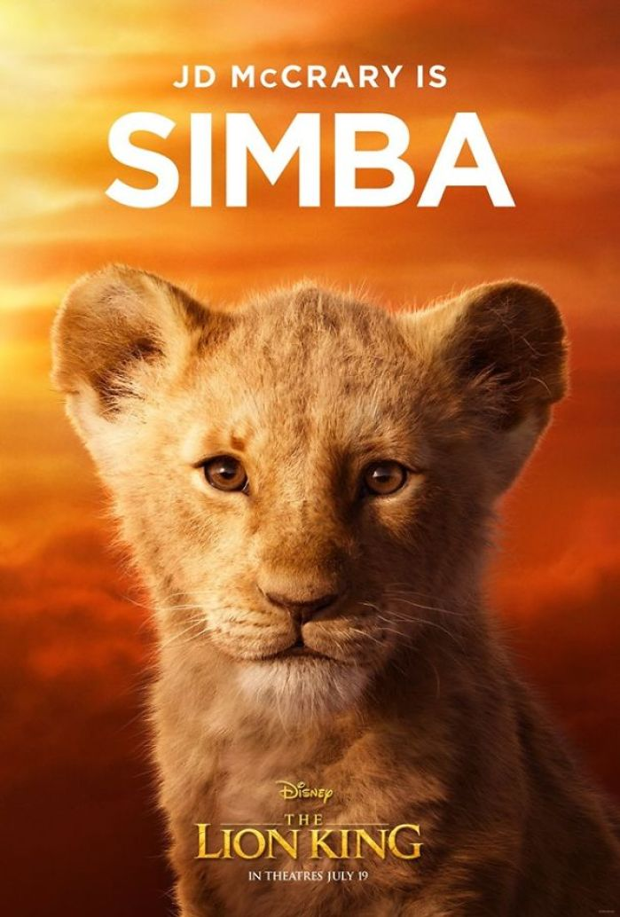 Disney Reveals Posters For 11 Main Characters In The New Lion King Movie 9