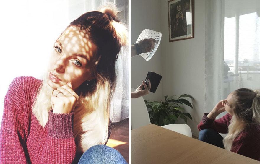 Cô gái này thể hiện một cách vui nhộn Thực tế khác với những gì chúng ta thấy trên Instagram