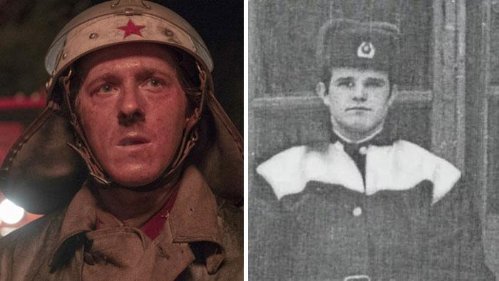 Adam Nagaitis As Vasily Ignatenko, A Pripyat Firefighter