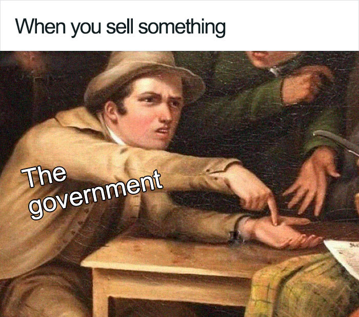 Someone Created A Meme About How The Government Tax System Works