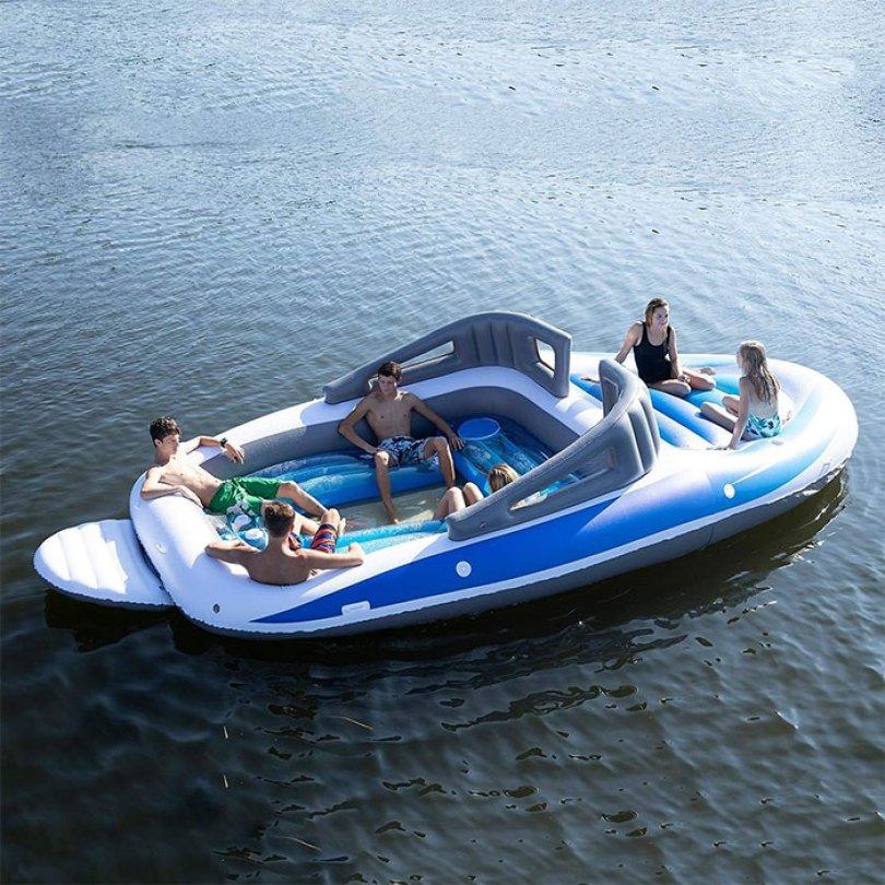 inflatable speedboat life size amazon 6 5d0346a7b29c9  700 - Lancha inflável faz você se sentir um milionário