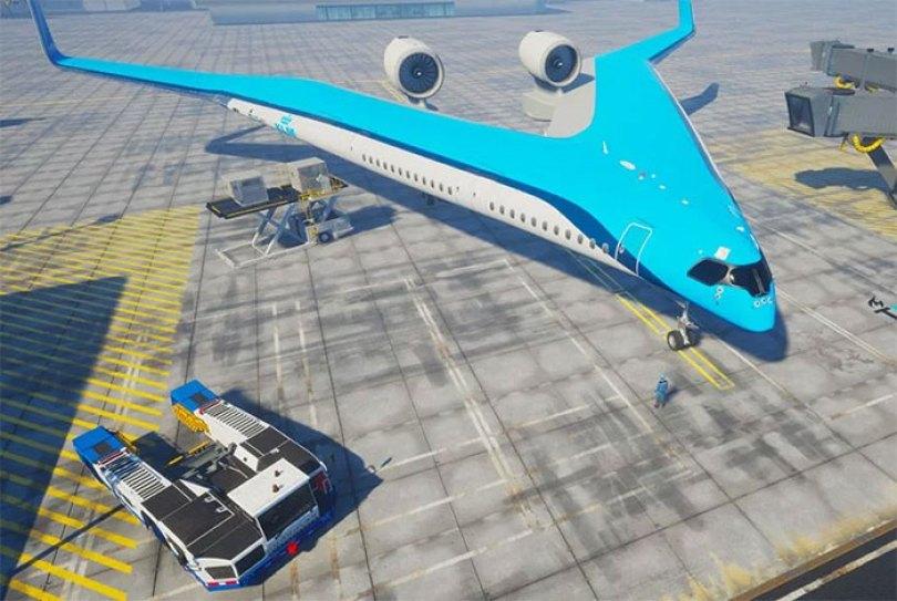 new shape flying v plane studio oso 1 5cf61923b47af  700 - Avião de passageiros projetado por estudante economiza 20% de combustível