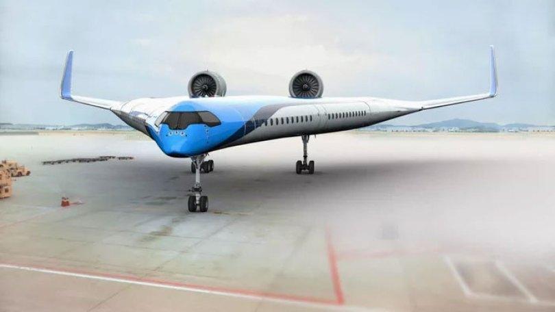 new shape flying v plane studio oso 5cf6260cf2eb4  700 - Avião de passageiros projetado por estudante economiza 20% de combustível