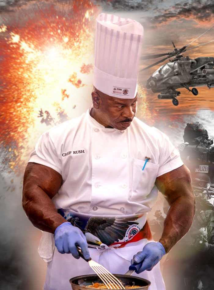People Notice That This White House Chef Is Something Way Out Of The Ordinary, Even Start A Photoshop Battle 16