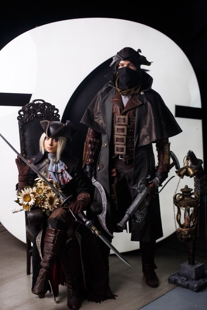 Lady Maria And Hunter (Bloodborne)