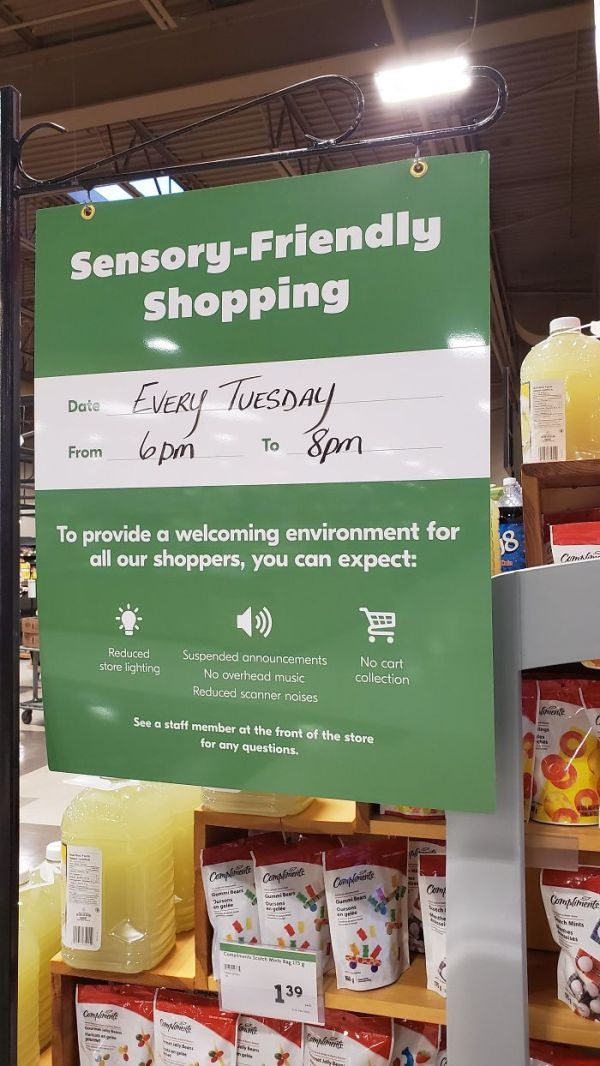 """Grocery Store In Summerside, PEI (Canada) Has """"Sensory Friendly Shopping"""""""
