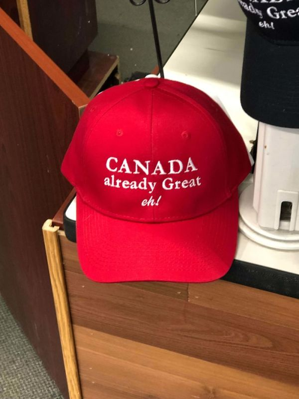 Found A Pretty Cool Hat At A Local Store Today